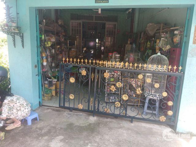Bán nhà cấp 4 đang bán tạp hóa, phía sau 5 phòng trọ. Tân Phú Trung, Củ Chi. HCM Giá 1.2tỷ