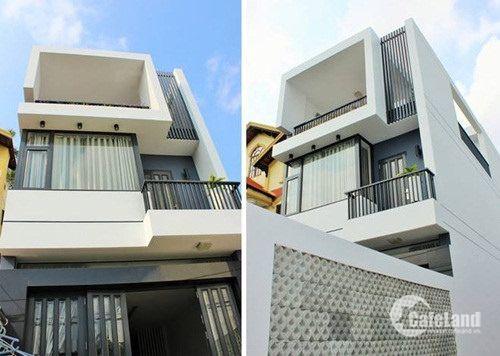 Nhà bán mt Nguyễn Văn Bứa 1 trệt 2 lầu,5x17 giá 1 tỷ 500 sổ hồng riêng