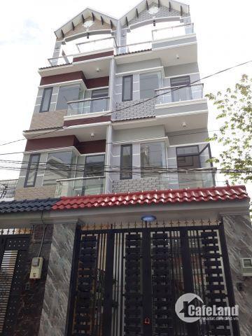 Bán nhà hẻm 1979 Huỳnh Tấn Phát, Trung tâm Thị Trấn Nhà Bè, Nhà phố 3 lầu, 4PN, KDC hiện hữu, giá 5.2 tỷ