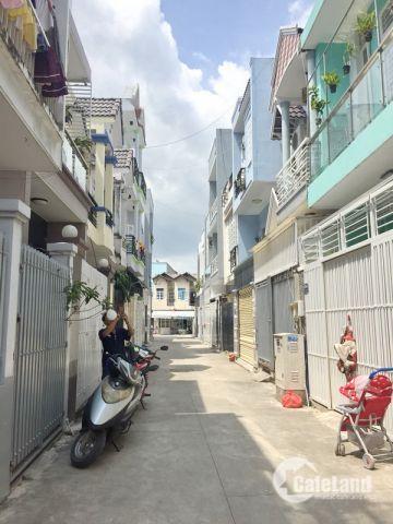 Bán nhà lầu mới hẻm xe hơi 2329 Huỳnh Tấn Phát, Nhà Bè.