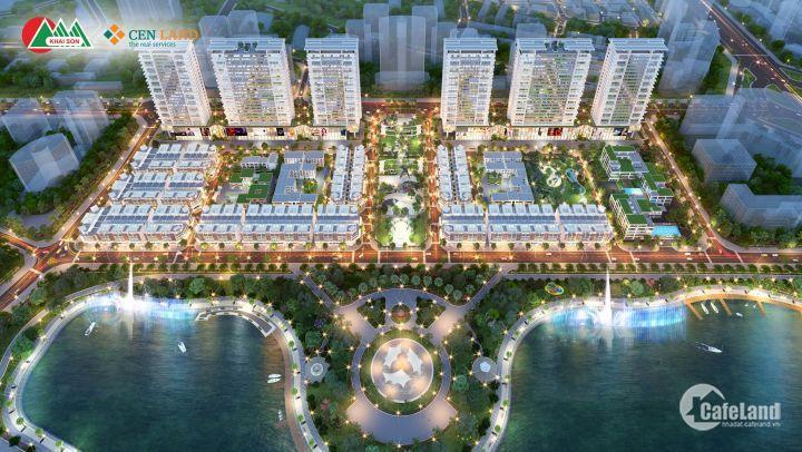 Mặt hồ sinh lời cao, giá không hề mềm. Khai Sơn city