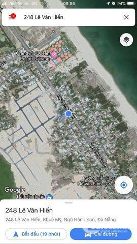 Mặt tiền đường lạc long quân - sát coco bay - cạnh chợ điện dương