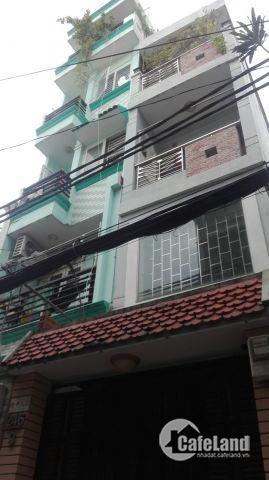 Bán gấp nhà HXH, Q.1, Phường Tân Định, DT: 4x8, trệt+3 lầu, Giá 7.5 tỷ