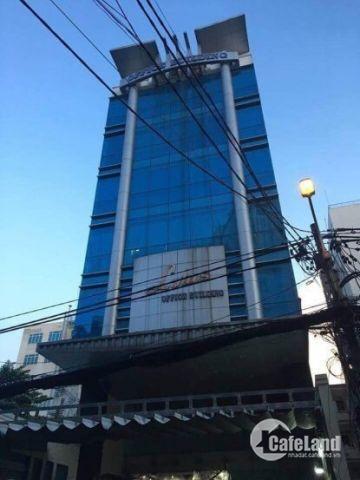 Tòa nhà đường Sư Vạn Hạnh,Q10, DT: 8m x 20m, Hầm, 7 lầu, TM,.đang cho thuê 300tr/tháng