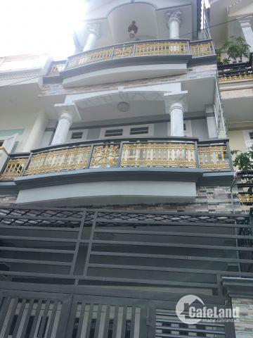 Bán nhà 1 trệt, 2 lầu, 1 sân thượng, có sổ riêng, quận 12