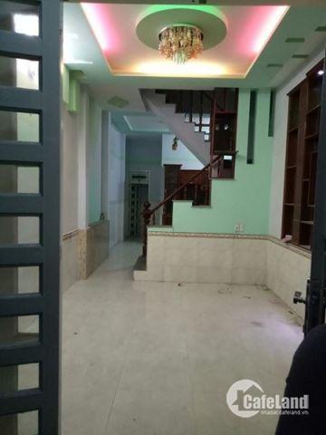 Bán nhà mới xây đúc thật 1 trệt 2 lầu, đường Lê Văn Khương Q12 giá 1,39 tỷ