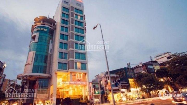 Bán tòa nhà mặt tiền Nguyễn Đình Chiểu,P6, Q3. DT:8m25x25m Hầm lửng 9 lầu Giá 150tỷ