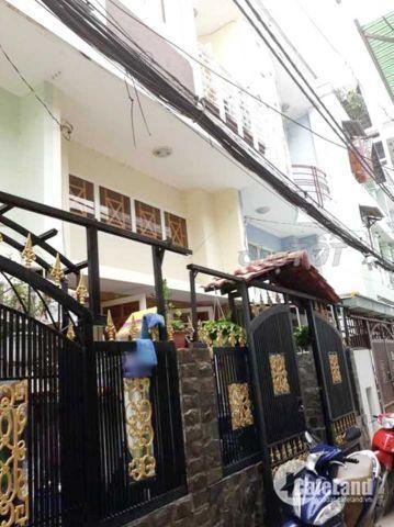 Bán nhà hẻm 4x11m đường Tân Thuận Tây Quận 7. Giá 3.65 tỷ (TL)