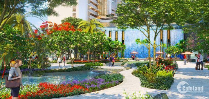 Phú Mý Hưng Midtown - Tuyệt tác công viên hoa anh đào đầu tiên Việt Nam