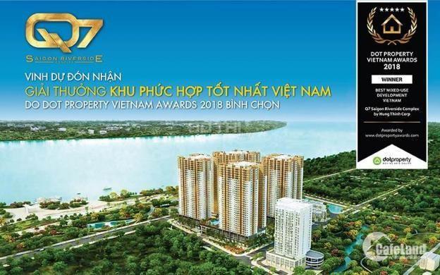 Căn hộ 2PN, 2WC, 67m2 Q7 Saigon Riverside Complex chỉ 1.9 tỷ PKD 0933.57.68.57