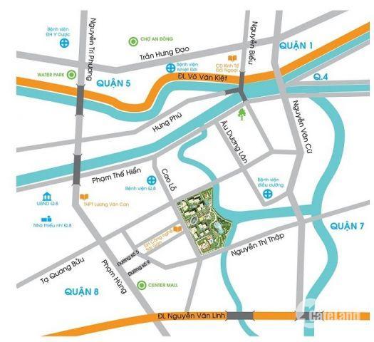 Cần bán gấp căn hộ Topaz City quận 8, tầng trung thoáng mát, 70m2, view Q1 cực đẹp