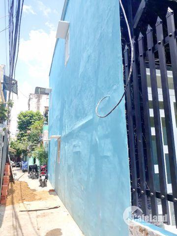 Bán nhà mới 1 lầu hẻm 4m đường Phong Phú Phường 12 Quận 8