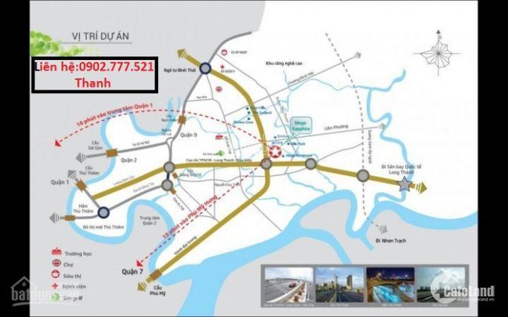 Chính thức nhận giữ chỗ SAFIRA Khang Điền 20tr/căn.Nhận ngay Toyota 1 tỷ 3. CK 7%