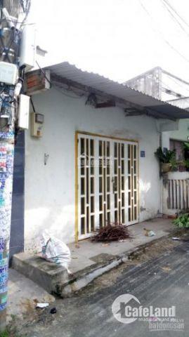 Nhà cấp 4, hẻm ô tô, đường 385, Lê Văn Việt, Q9, DT 69.2m2, ngay cao đẳng Tài Chính Marketing