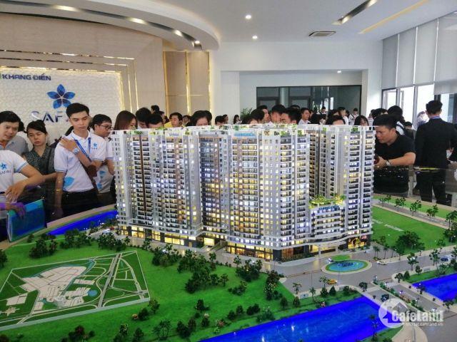 Mở bán đợt đầu căn hộ Sapphira Khang Điền, mặt tiền Võ Chí Công