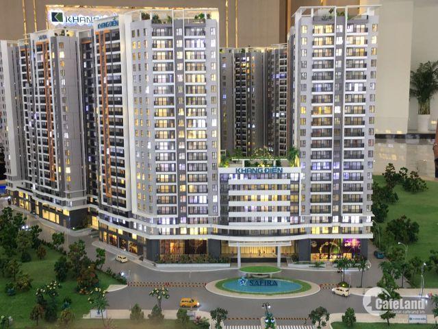 Chỉ 1,2 tỷ Sở hữu ngay căn hộ 2PN Safira Khang Điền Quận 9
