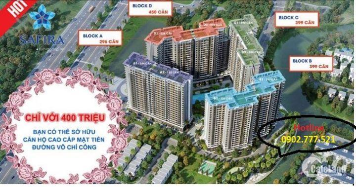 Căn hộ Safira Khang Điền liền kề TT tài chính quận 2.Chỉ từ 1tỷ27/căn