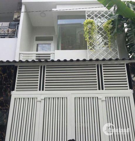Chính chủ bán nhà mới MT chợ LK 5-6, sổ hồng riêng,75m2, Bình Tân