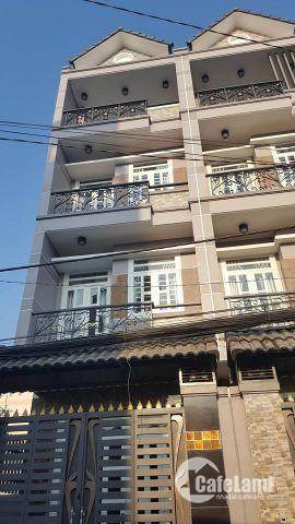 Nhà 1 trệt 3 lầu sân thượng 4mx18m 310/ Đất Mới