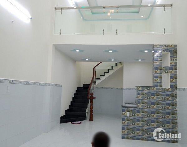 Bán nhà mới hẻm 80 đường số 12 Phường Bình Hưng Hòa Quận Bình Tân
