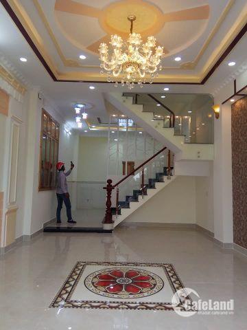 Bán nhà MT chợ đường số 7, Bình Tân. 1 trệt 2 lầu