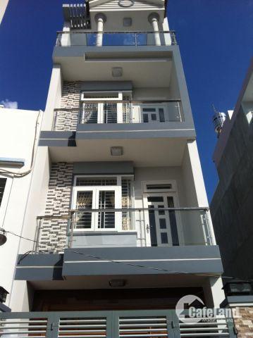 Bán nhà 4 tầng, Đường Nguyễn Văn Khối, P.11, Dt: 4x14, Giá: 5.5 tỷ.