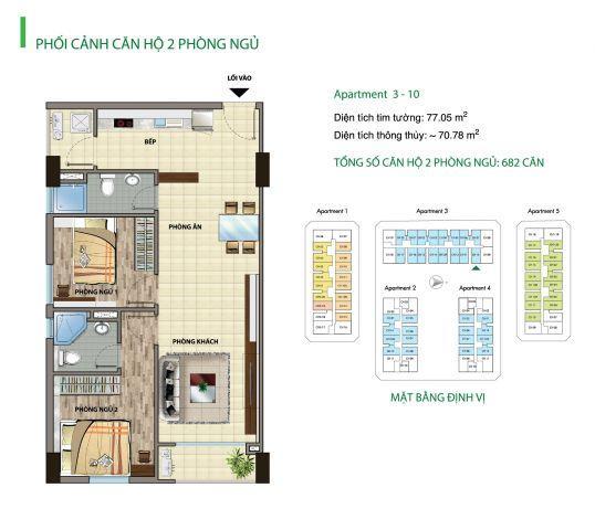 Chính chủ gia đình bán hòa vốn một số căn hộ, view đẹp, giá tốt, KĐT CityLand, Gò Vấp, sắp giao nhà