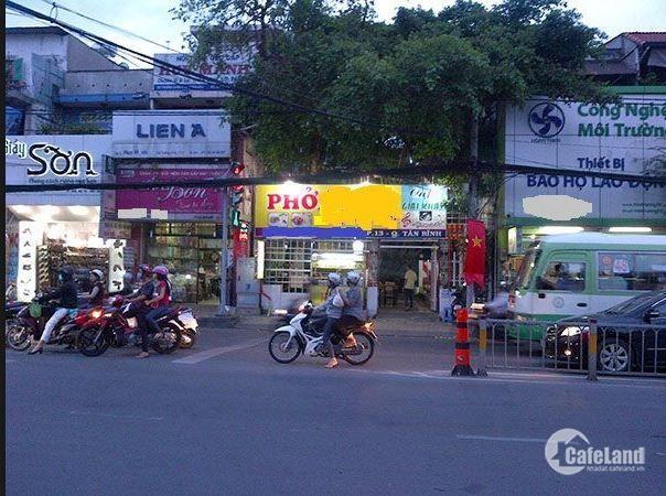 Bán gấp nhà mặt tiền Trường Chinh q.Tân Bình để định cư nước ngoài