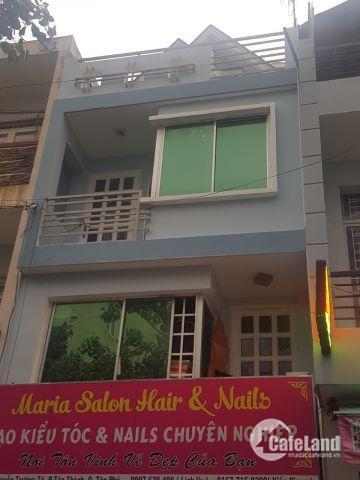 Nhà MT Đường Nguyễn Trường Tộ dt 4 x 8 nhà 2 lầu giá bán 4,8 tỷ