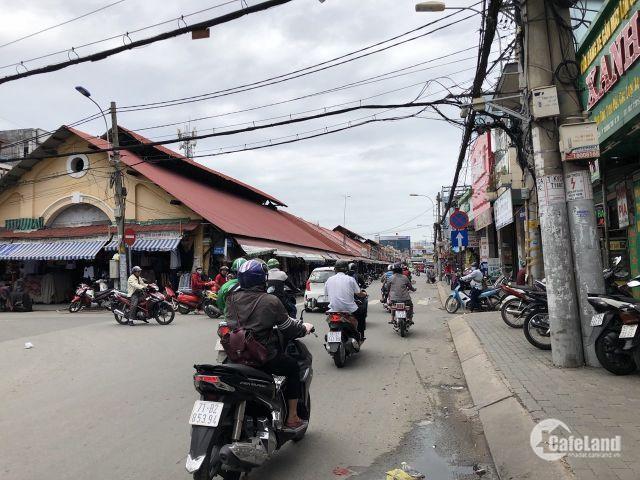 Bán nhà C4 mặt tiền Kha Vạn Cân ngay chợ Thủ Đức phường Linh Đông(80m)