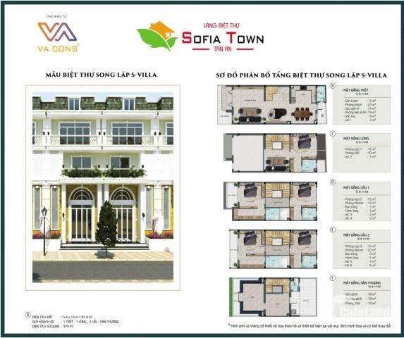 SOFIA Town Nhà phố liền kề nơi tốt nhất cho không gian gia đình bạn