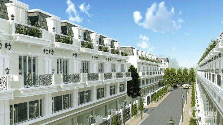 Chỉ từ 850tr/căn sở hữu nhà mặt tiền tại trung tâm Tp.Tân An, Long An, thanh toán theo tiến độ