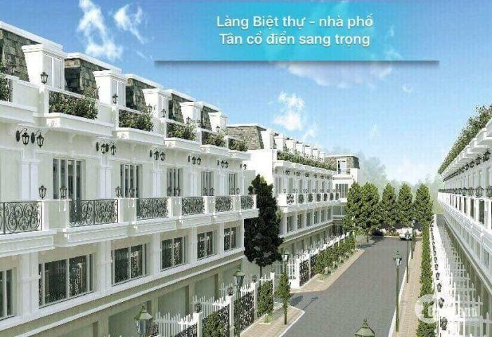 Bán nhà phố liền kề,lần đầu tiên có tại Long An 1 trệt,1lửng, 1 lầu, chỉ 1tỷ4  nhận nhà ngay