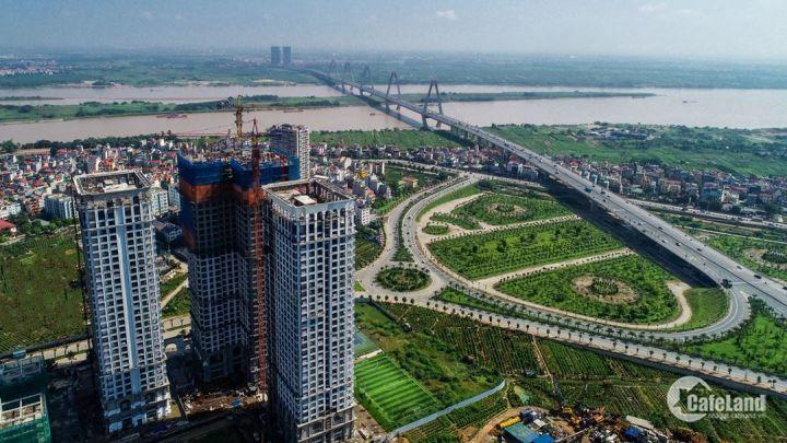 Bán căn hộ Sunshine Riverside đường Võ Chí Công, Căn 3PN 2VS 83m2 view Sông Hồng cầu Nhật Tân