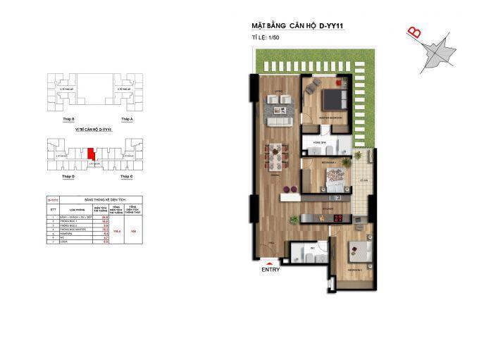Chính chủ bán cắt lỗ căn 116,4m2 CC Imperia Garden , có sổ đỏ, tầng đẹp, view đẹp