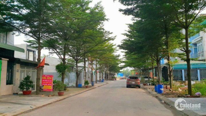 Bán Nhà lầu 100m2 tại KDC Hài Mỹ đối diện công viên, cách chợ 200m, NH hổ trợ 70%. chiết khấu cao