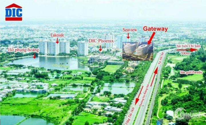 Gateway Vũng Tàu 100% view biển, 1PN 2PN, ngân hàng hỗ trợ 80%, chiết khấu khủng 7%.