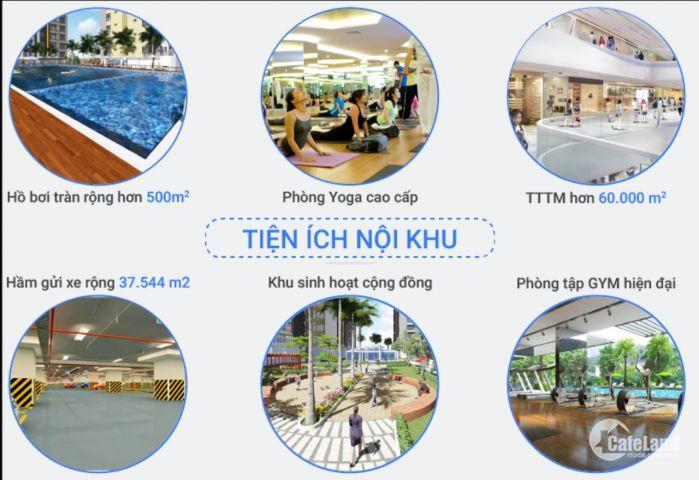 Căn hộ view biển sở hữu vĩnh viễn ngay trung tâm TP Vũng Tàu, từ 20 - 24tr/m2