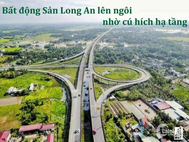 Đất nền dự án LAGO CENTRO khu vực Bến Lức, Long An, 10tr/m2, xây dựng tự do, LH 0938500530
