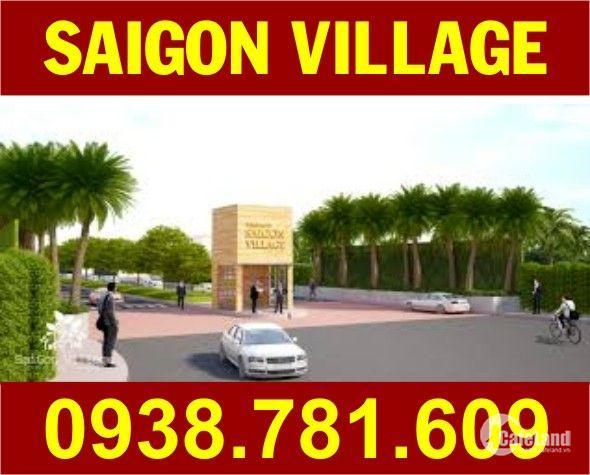 Cần bán gấp lô Sài Gòn Village, DT: 90m2, đường 17m, SHR, giá: 1.170 tỷ, LH: 0938781609 Thùy Trang