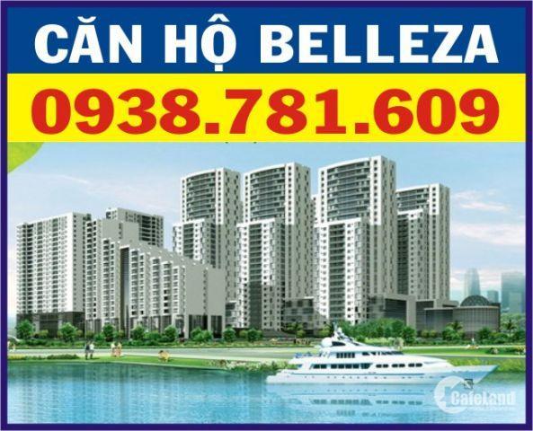 Cần Bán Căn Hộ Belleza, DT: 127m2, 3PN, view sông NTĐĐ, Giá tốt: 2.3 tỷ. LH: 0938781609 - Trang