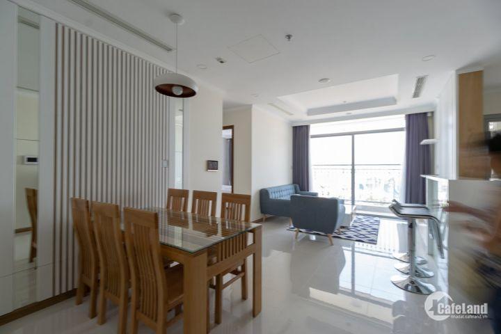 Căn hộ 3PN, DT 118m2, đầy đủ nội thất, phòng khách rộng, đối diện Landmark 81, cho thuê 27.5tr/tháng, bao phí quản lý LH: 0943.66.18.66