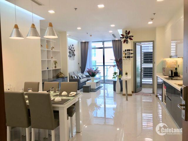 Cho thuê Căn hộ Vinhomes 2PN đầy đủ nội thất cao cấp, view Landmark 81 giá cho thuê 20.5 triệu/tháng LH:0931.46.77.72