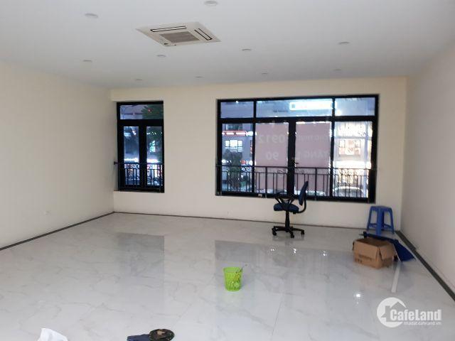 Chính chủ cho thuê nhà mặt phố Vũ Phạm Hàm 150m2  4,5t giá 80tr