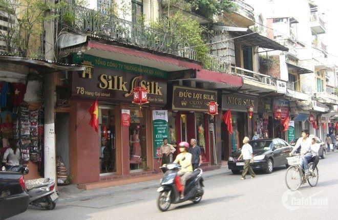Cho thuê nhà mặt phố   Lương Văn Can 55m, 3.5 tầng, mtien 3.7m