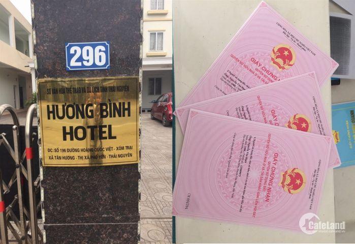 Khách sạn 22 phòng cho thuê hoặc bán tại Tân Hương, Phổ Yên, Thái Nguyên