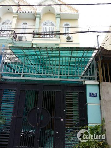 Nhà cho thuê 1 trệt, 2 lầu, Thạnh Lộc 12, DT 4x19m, giá 7 triệu/th. LH: 0973891710