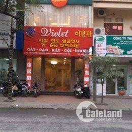 Cho thuê cửa hàng mặt phố Nguyễn Trãi 35m2, MT 4m, giá thuê 30tr/tháng