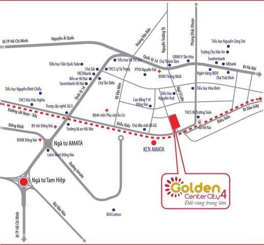 Khu đô thị GOLDEN CENTER CITY 4, chiết khấu 1 - 2 lượng vàng SJC, Liên hệ: 0938 378 103