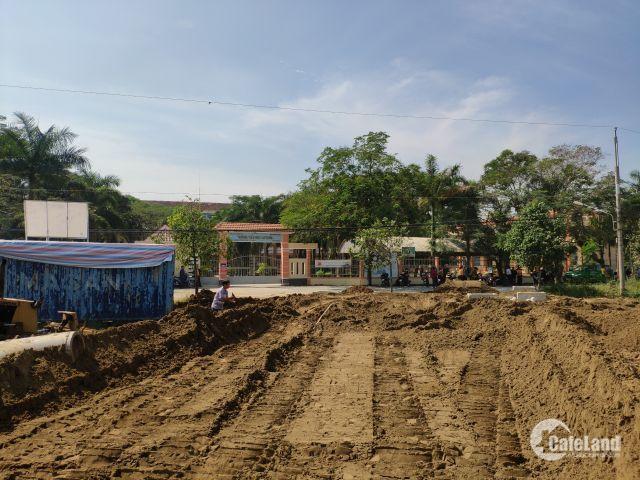 Cần bán gấp lô đất 5x18m đối diện trường học 450 triệu/nền, sổ hồng riêng  LH 0777731111